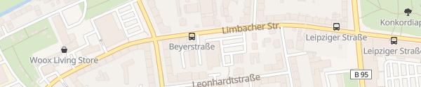 Karte Lidl Limbacher Straße Chemnitz
