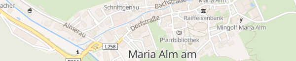 Karte Active Apartments Maria Alm