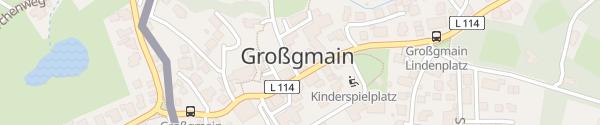 Karte Gemeindeamt Großgmain