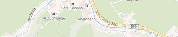 Karte Talstation Abergbahn Maria Alm