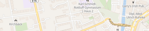 Karte Kaßbergstraße Chemnitz
