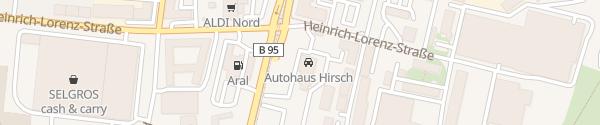 Karte Autohaus Hirsch Chemnitz