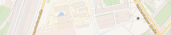 Karte Fraunhofer IWU Chemnitz