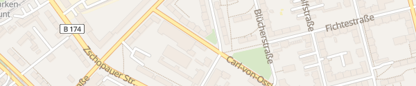 Karte Carl-von-Ossietzky-Straße Chemnitz