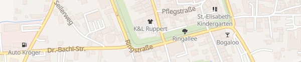 Karte Tiefgarage Marienplatz Pfarrkirchen