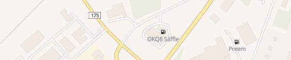 Karte OKQ8 Säffle