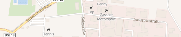 Karte Autohaus Gassner Mitsubishi Ainring