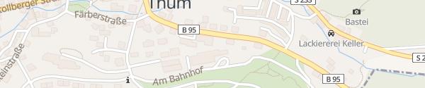 Karte Thumer Schnitzerstübel Thum