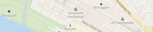 Karte E-Wald Ladesäule Technische Hochschule Deggendorf