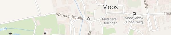 Karte E-Wald Ladesäule Rathaus Moos