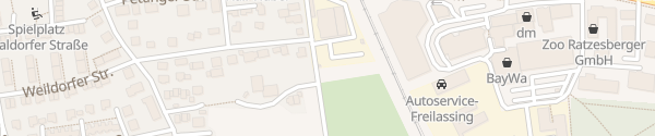 Karte Netzcenter Bayernwerk Freilassing