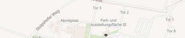 Karte MAFZ Erlebnispark Schönwalde-Glien