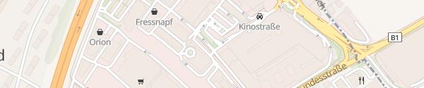 Karte Designer Outlet Wals-Himmelreich