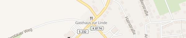 Karte Hotel Gasthof zur Linde Amtsberg