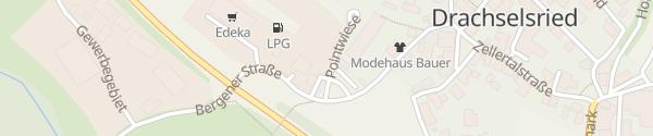 Karte E-Wald Ladesäule Drachselsried