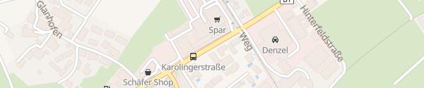 Karte Autohaus ÖFAG Salzburg