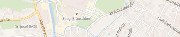 Karte Stiegl Brauwelt Salzburg