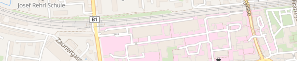 Karte Landeskrankenhaus Salzburg