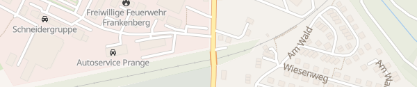 Karte Autohaus Schwenzer Frankenberg/Sachsen