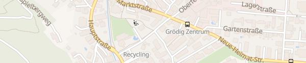 Karte Gemeinde Grödig