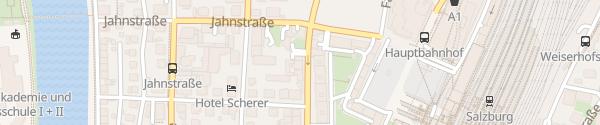 Karte Hotel Adlerhof Salzburg