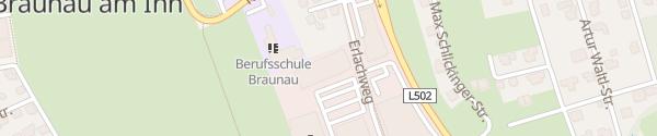 Karte Elektroteam Stadtwerke Braunau am Inn