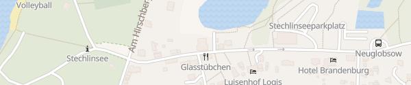 Karte Stechlinsee-Center Stechlin