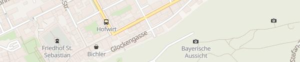 Karte Parkgarage Linzer Gasse Salzburg
