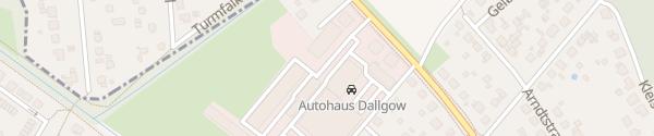 Karte VW Autohaus Dallgow Dallgow-Döberitz