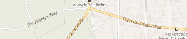 Karte KFZ Zulassung Teßmer Falkensee