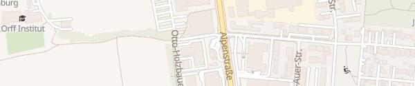 Karte OMV Tankstelle Salzburg