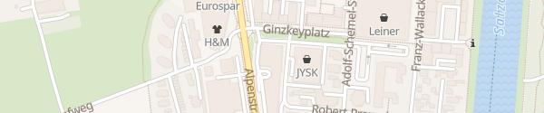 Karte Amadeo Hotel Schaffenrath Salzburg