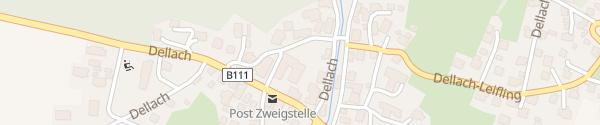 Karte Gemeindeamt Dellach im Gailtal