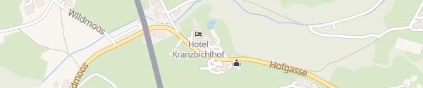 Karte Hotel Kranzbichlhof Bad Dürrnberg