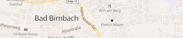 Karte Freiwillige Feuerwehr Bad Birnbach