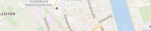Karte Salzberghalle Hallein