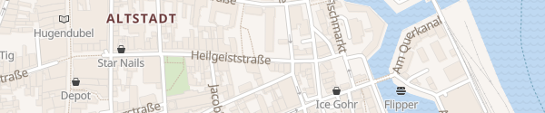 Karte Staatliches Amt für Landwirtschaft und Umwelt Stralsund
