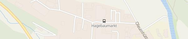 Karte Bayernwerk Netzcenter Regen