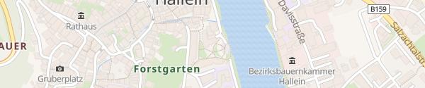 Karte Altstadtgarage Hallein
