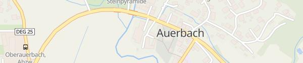Karte Gemeindeamt Auerbach