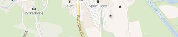 Karte Schlossalmbahn Bad Hofgastein