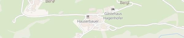 Karte Landhotel Hauserbauer Dorfgastein