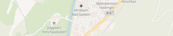 Karte Klinikum Bad Gastein