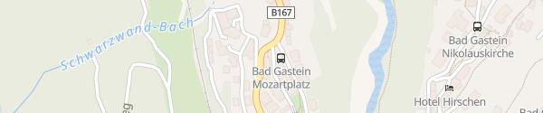 Karte E-Bike-Station Tourismusverband Bad Gastein