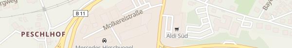 Karte Automobile Hofbauer Regen