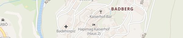 Karte Hapimag Resort Bad Gastein