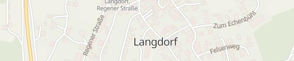 Karte Rathaus Langdorf