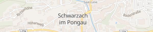 Karte Bäckerei Unterkofler Schwarzach im Pongau