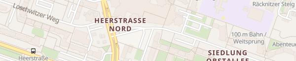 Karte Obstallee Berlin