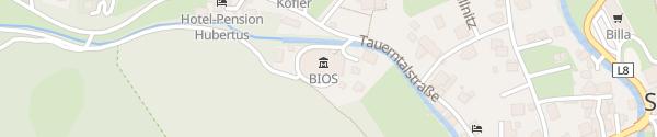 Karte Besucherzentrum Mallnitz Mallnitz